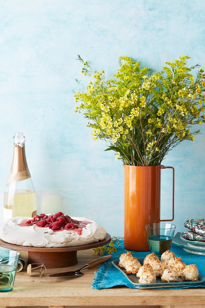 Food Styling by Heather Meldrom
