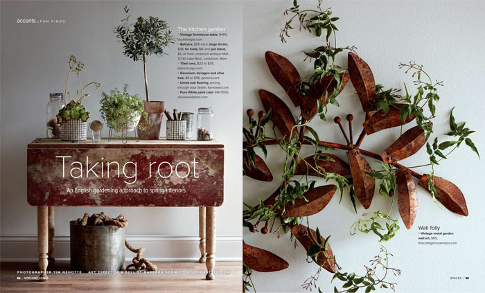 Prop Styling by Barb Schmidt